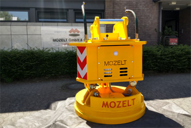 Hydraulic magnet MHM 10 for track construction