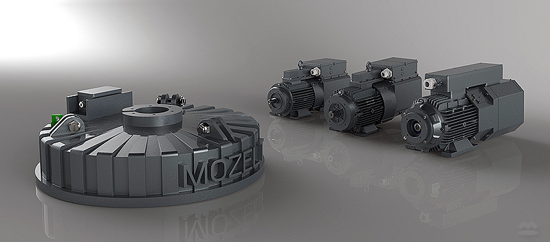 MOZELT power supplies and lifting magnets